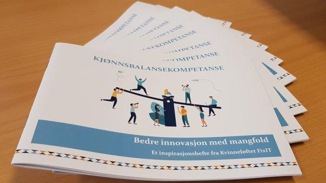 Gender balance competence inspiration brochure